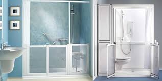 Disabled Half Height Shower Doors Slider