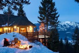 winter cabin cozy winter cabin