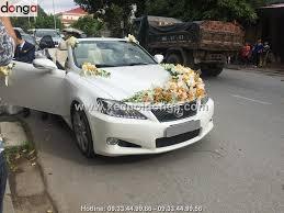 xe lexus mui tran 4 cho hài lòng khi thuê xe cưới lexus is 250c mui trần của xe cưới đông a