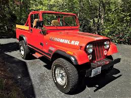 jeep scrambler 1982 1983 jeep cj 8 scrambler u2013 frame off restoration second daily