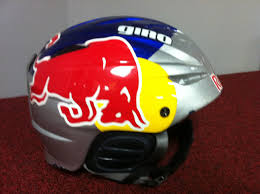 red bull motocross helmet sale simon dumont u0027s giro redbull helmet signed sell and trade