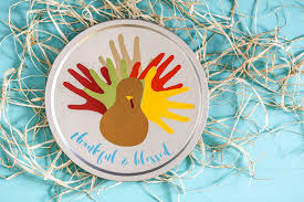 vinyl handprint turkey craft sugar bee crafts