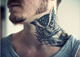 die besten 25 owl neck tattoo ideen auf pinterest eulen