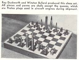 Diy Chess Set by Projectophile Time Machine Diy Inspiration From 70 Years Ago