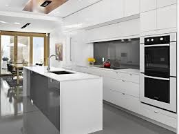 Glossy Kitchen Cabinets  Best High Glossy Kitchen Cabinet Design - White gloss kitchen cabinets