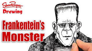 how to draw frankenstein u0027s monster youtube