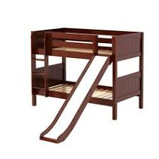 Bunk Beds With Slides And Stairs Smile Twin Over Twin Low Bunk - Vancouver bunk beds