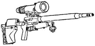 Heavy sniper rifles
