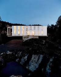 cantilever homes on a rock in a hard place dwell