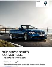 bmw 320i brochure bmw 320i convertible brochure 2010 manuals