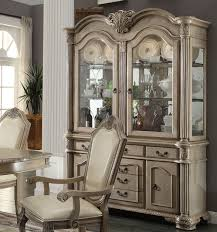 sideboards glamorous antique white buffet and hutch antique
