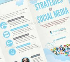 social media brochure template 45 creative premium brochure template designs 56pixels