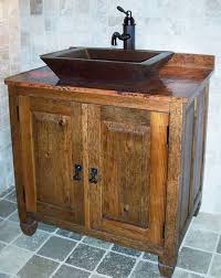 vessel sinks for bathrooms cheap stunning rustic bathroom sink cabinets vanities for vessel sinks