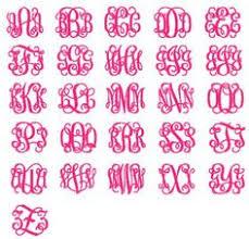Initial Monogram Fonts Interlocking Vine Monogram Font Free Download Cricut Projects