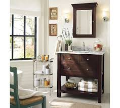 pottery barn bathrooms ideas bathroom rustic wooden bathroom furniture large beige pottery
