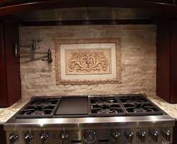 Kitchen Medallion Backsplash Decorative Tile Inserts Kitchen Backsplash Ellajanegoeppinger Com
