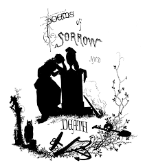 antique silhouette poems of death halloween the graphics fairy