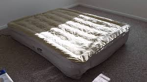 Air Mattress With Headboard Serta Sleeper Raised Air Bed Never Flat