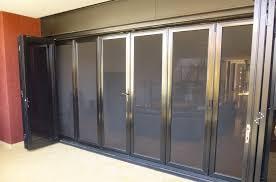 Bi Fold Glass Patio Doors by Crimsafe Bifold Doors Screens For Bifold Doors Clearview Security