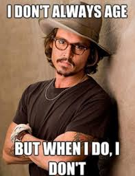 Johnny Depp Meme - johnny depp age meme by nikitaxxxl memedroid