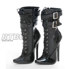 s boots with heels s boots 18cm 7 034 stiletto heel handmade 2 buckle