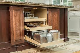 Pull Out Drawers In Kitchen Cabinets Kitchen Cabinet Storage Solutions U0026 Enhancements U2014 Ackley Cabinet Llc