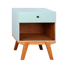nightstand simple nightstand lamps modern orange furniture