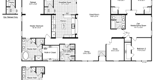 triple wide mobile homes floor plans floor trendy ideas 8 open house plans with wrap around porch the