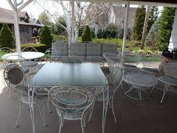 reasons to choose wrought iron patio furniture sets u2014 bitdigest design