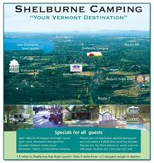 Vermont travel voucher images Camping area shelburne vermont jpg