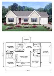 Small Ranch Style Home Plans by Cottage Country Ranch House Plan 62386 Lakes The Depths And Sleep