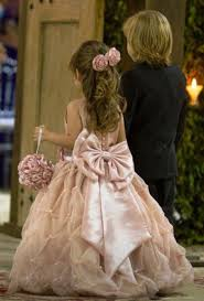 floor length first communion dresses for girls beading bow flower