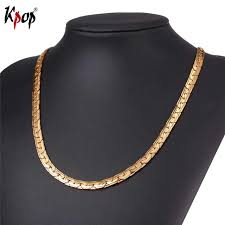 aliexpress buy new arrival men jewelry gold silver online shop kpop gold silver black color accessories chain