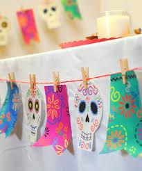dia de los muertos decorations diy banner for día de los muertos decorate with a banner