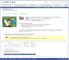 united airlines checked bag ua upsell teaser post cc png