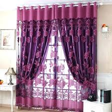 Pink And Purple Curtains Purple Pictures For Bedroom Top Purple Curtains For Bedroom Within