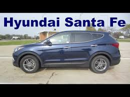 rent hyundai santa fe 2017 hyundai santa fe sport 2 4 l awd rental car review and test