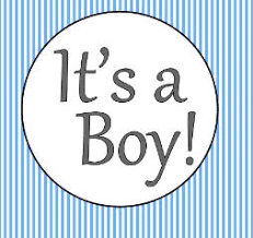 it u0027s a boy baby shower edible cake decoration image topper stripes