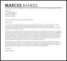 pharmacist resume cover letter pharmacist cover letter pharmacist