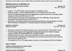 Resume Examples Teacher by It Resume Sample Haadyaooverbayresort Com
