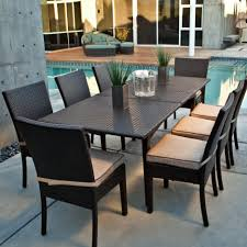 White Patio Dining Sets by Dining Tables Rectangular Patio Dining Table 6 Person Patio