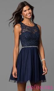 navy blue dress navy lace bodice junior sized party dress promgirl