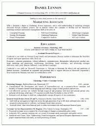 Sample College Graduate Resume by Resume Sample Marketing Graduate Templates