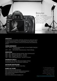 Photography Resume Sample by Best 25 Cool Resumes Ideas On Pinterest Curriculum Vitae