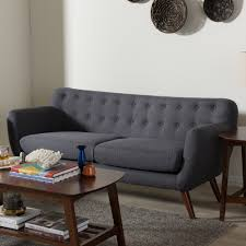 Riemann Sofa Zuo Rocky Putty Polyester Sofa 100533 The Home Depot