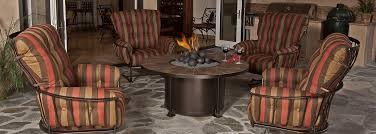 ow lee monterra wrought iron patio furniture