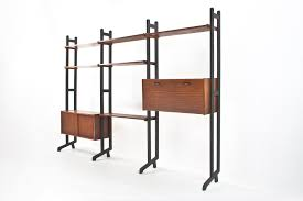 mid century dutch modular wall system by simpla lux 1950s for