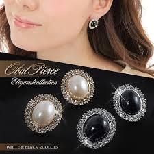 big ear rings accessoryshopbarzaz rakuten global market titan post earrings