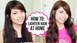 lighten you dyed black hair naturally how to dye hair from black to brown coloring tips tricks youtube