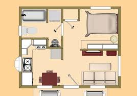 Floor Plan View 3d Top View Of The 360 Sq Ft